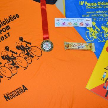 Retire seu Kit Ciclista – 18º Passeio Ciclístico ADEPOM