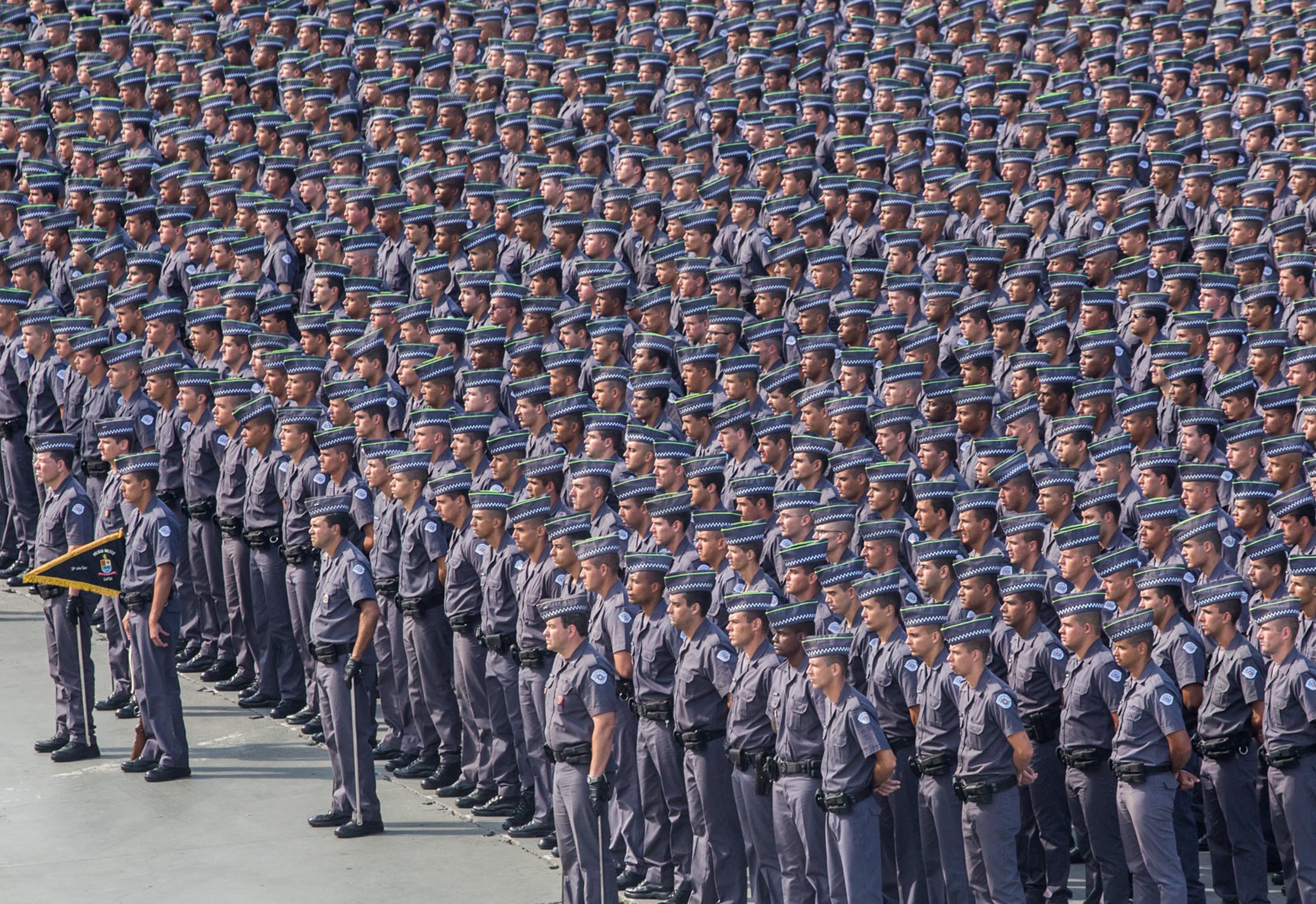 Formatura de 2614 Soldados da PM no Sambódromo do Anhembi. Data: 27/05/2015. Local: São Paulo/SP. Foto: Du Amorim/A2 FOTOGRAFIA