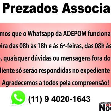 Whatsapp ADEPOM