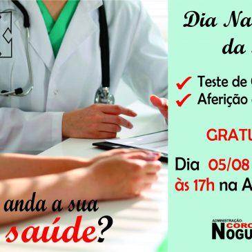 Campanha Dia da Saúde. Venha Participe!