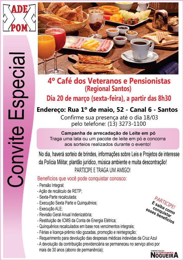 Convite Regional Santos