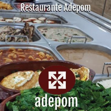 Lindo como ele só, está aberto ao público o restaurante da ADEPOM